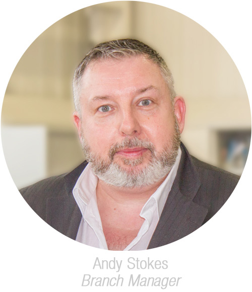 Andy Stokes, Branch Manager