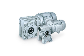 Gear motors and gearboxes
