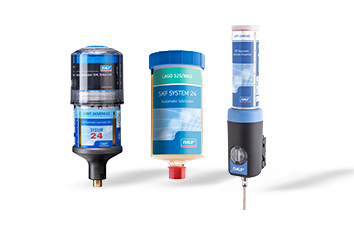 SKF Automatic grease dispensing tools