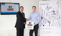 Gavin Stacey UK Sales Manager and Les Brogden Northern Key Account Manager for Camozzi